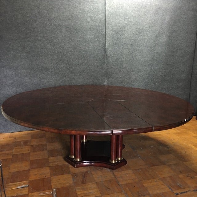 Expandable Circular Dining Table - Image 2 of 10