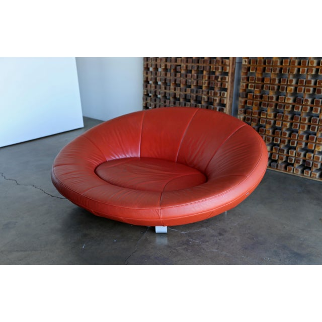 Jane Worthington DS 152 Red Leather Sofa for De Sede For Sale - Image 13 of 13