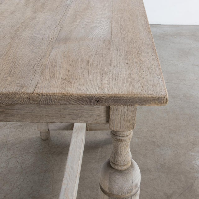 Wood Antique French Oak Table With Drawer For Sale - Image 7 of 12