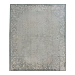 """Vintage Chinese, Art Deco Rug 8'3"""" X 9'9"""" For Sale"""