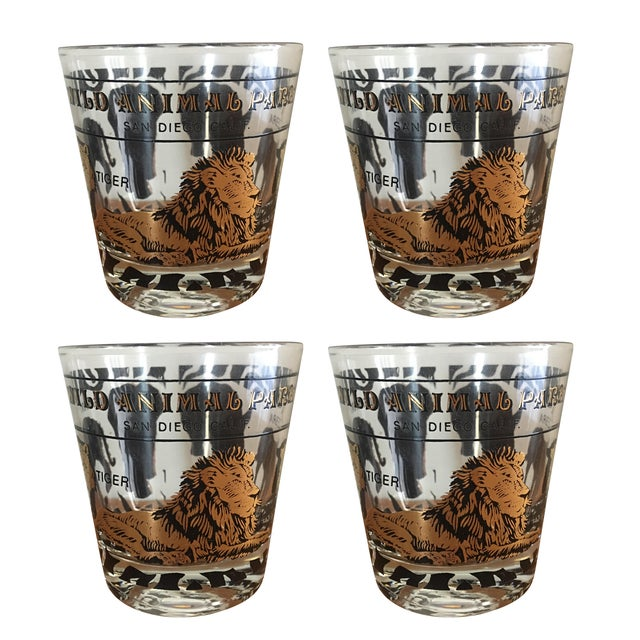 San Diego Animal Park Drinking Glasses - Set of 4 - Image 1 of 5