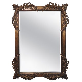 20th Century Labarge Rococo Style Mirror For Sale