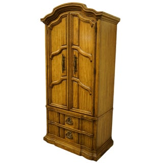 United Furniture Italian Neoclassical Tuscan Style Armoire Preview