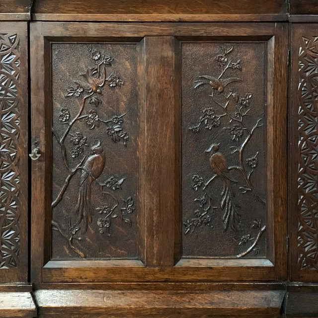 Brown 19th Century Renaissance Bookcase For Sale - Image 8 of 13