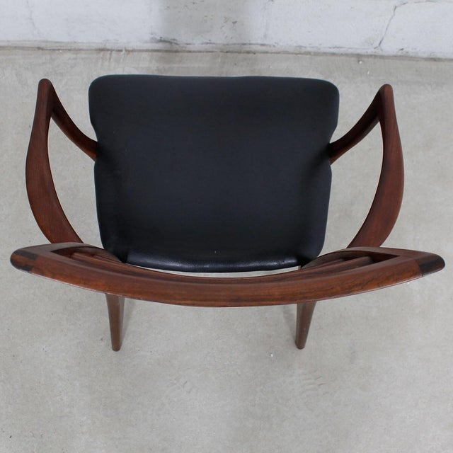 Koefoed Hornslet Danish Modern Rosewood Dining Chairs - Set of 6 For Sale - Image 9 of 10