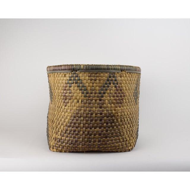 Vintage Tribal Basket For Sale - Image 4 of 12