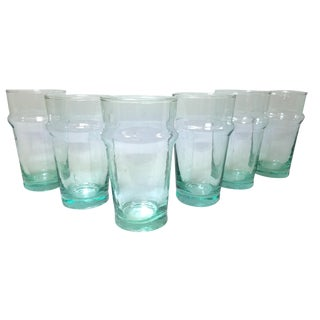 Beldi Clear Water Glasses - Set of 6 For Sale