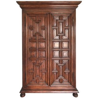 Geometric Armoire by Charles Pollock for the William Switzer Collection