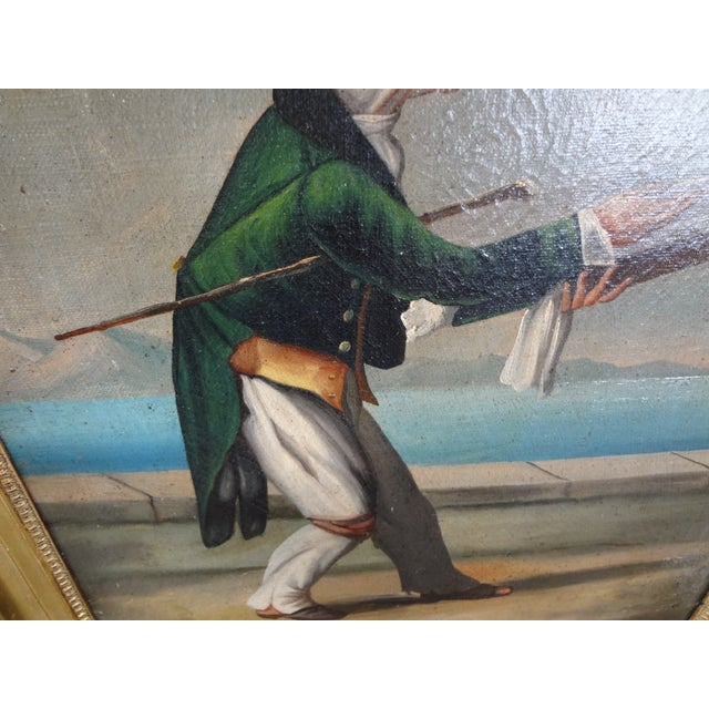 19th Century Italian Painting For Sale - Image 9 of 11