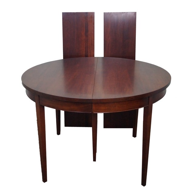 Vintage Solid Mahogany Extension Dining Table - Image 1 of 10