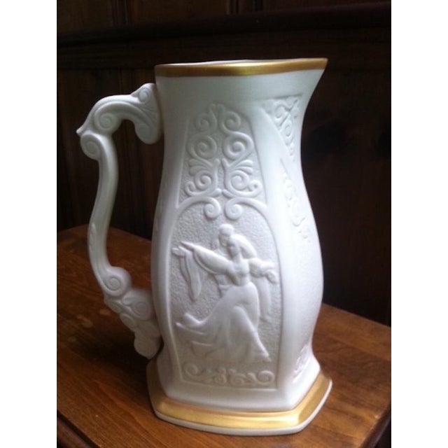 Laszlo Ispanky Mid-Century Limited Edition Lenox Porcelain Pitcher For Sale - Image 4 of 10