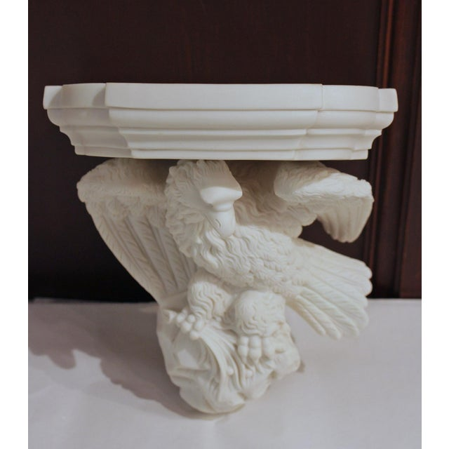 Mid 19th Century Mid-19th Century Parian Eagle Wall Bracket For Sale - Image 5 of 5