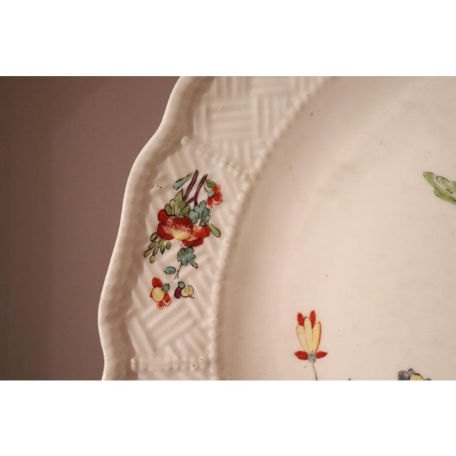 18th Century Porcelain Plate Signed Meissen With Kakiemon Decoration, 1740s For Sale - Image 10 of 13