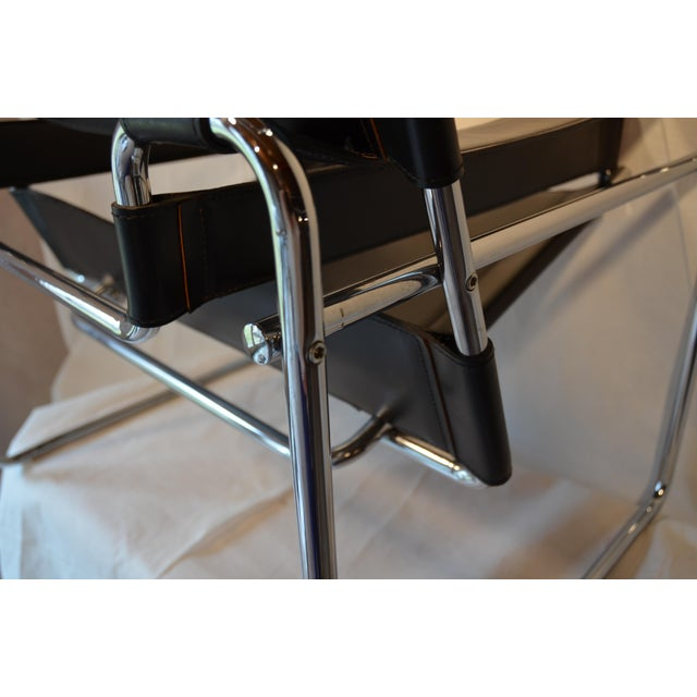 Vintage Wassily Chair, in the Style of Marcel Breuer For Sale In Chicago - Image 6 of 11