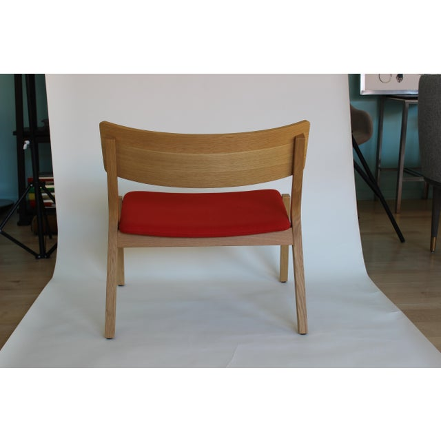 Modern Verywood Frame Lounge Chair For Sale - Image 4 of 7