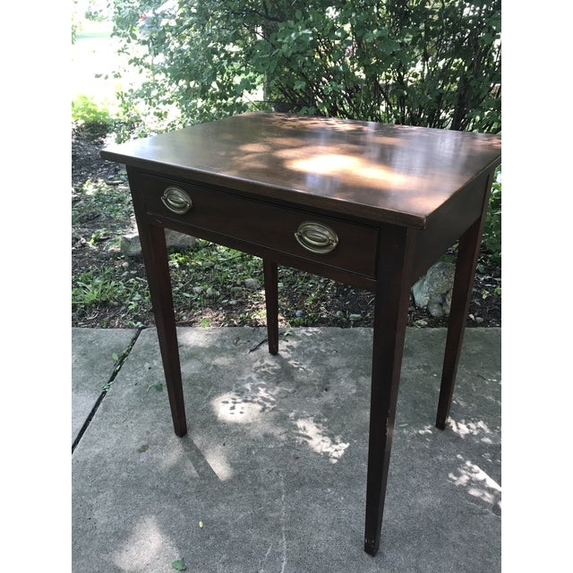 1940s Early American Kittinger Table For Sale - Image 5 of 9