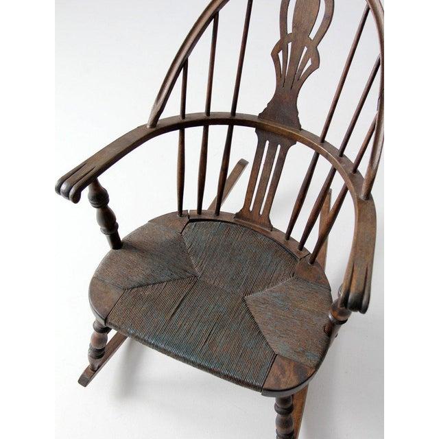 Antique Windsor Rocking Chair For Sale - Image 4 of 7 - Antique Windsor Rocking Chair Chairish