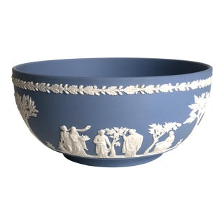 Classical Wedgwood Blue Jasperware Bowl