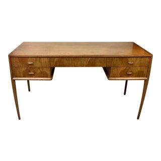 1960s Danish Modern Mt. Airy by Ray Sobota Walnut Writing Desk For Sale