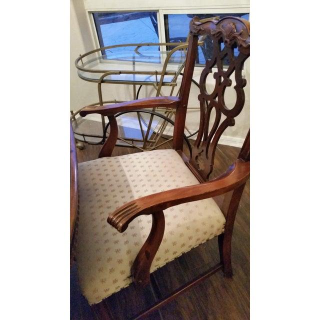 Antique Bernhardt Dining Set For Sale In Phoenix - Image 6 of 9