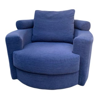 Late 20th Century Vintage Vladimir Kagan for Roche Bobois Swivel Chair For Sale