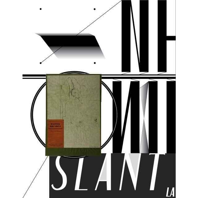 "slant select - ""Waiting for Lefty"" by R.B. Kitaj - Image 2 of 4"