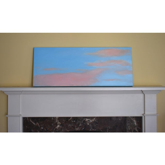 """Abstract Modern """"Morning Clouds"""" Contemporary Painting by Stephen Remick For Sale - Image 3 of 10"""