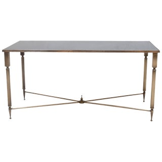 Neoclassical Style Rectangular Coffee Table by Maison Baguès, France, 1940s For Sale