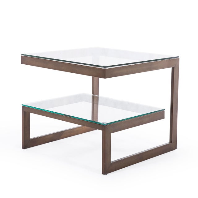 Making a visual impact at a petite size, our Naples side table provides stylish storage fit for any room in the house. The...