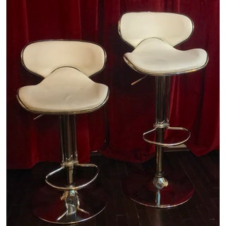 Contemporary Hydraulic Salon Chairs -A Pair For Sale