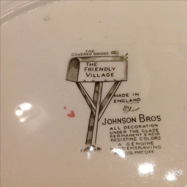 English Platters by Johnson Bros - Set of 2 - Image 8 of 10