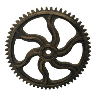 Large Gear Decor