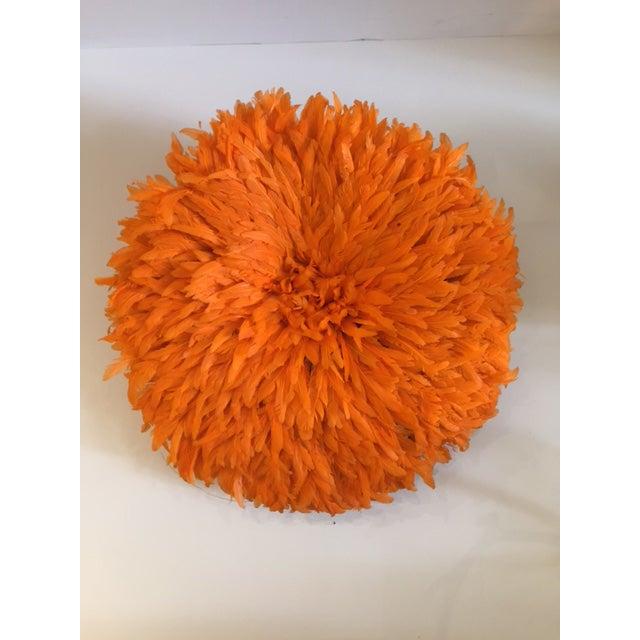 Boho Juju Orange Hat Wall Home Decor For Sale - Image 5 of 6