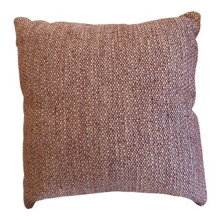 Manuel Canovas Biot Rose Ancien Pillow With Samuel and Sons Trim For Sale