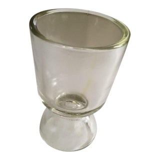 Vintage Early American Pressed Glass Egg Cup For Sale