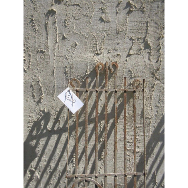 Traditional Antique Victorian Iron Gate Salvage For Sale - Image 3 of 6