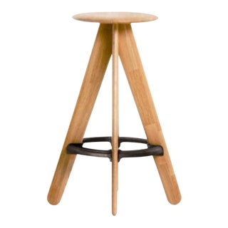 Tom Dixon Slab Bar Stool Natural For Sale