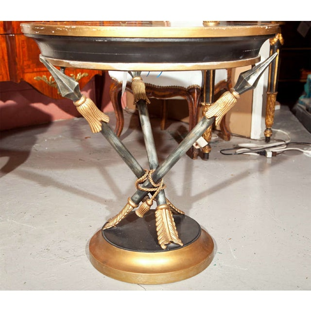 French Neoclassical Style Side Table - Image 4 of 7