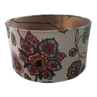 Shabby Chic Boho Large Drum Shade