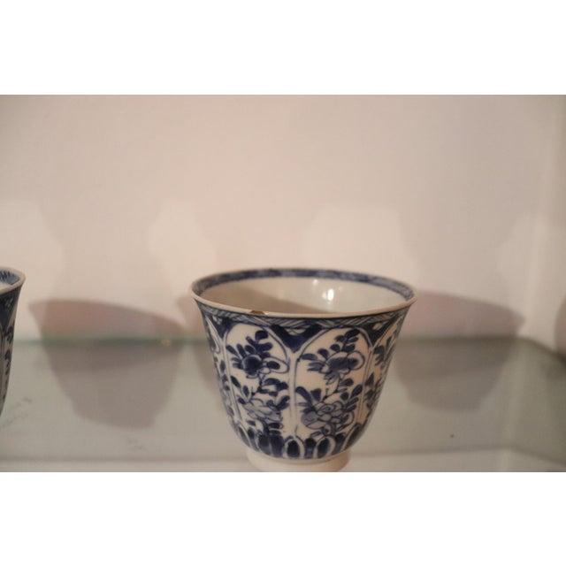 Ceramic 19th Century Set of Three China Ceramic Cups For Sale - Image 7 of 8