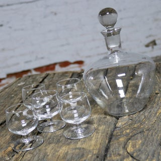 Tinka Decanter Set with Five Glasses by A. D. Copier for Royal Leerdam Holland Preview