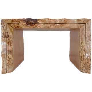 Nesting Tables With Sculptural Live Edge Design Custom Made by Petersen Antiques For Sale