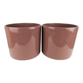 Gainey-Style California Pottery Planters - a Pair For Sale