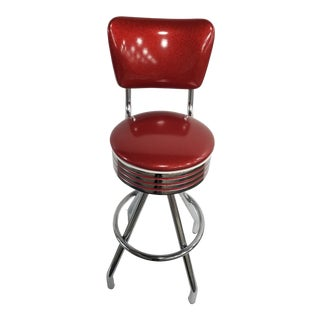 Vintage Retro Dinner Barstool For Sale