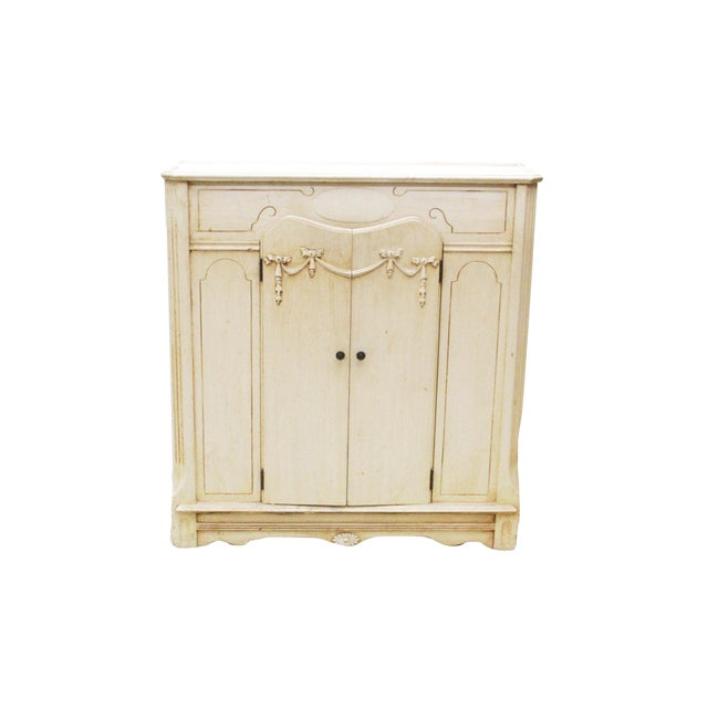 Vintage French Provincial Style Cabinet - Image 1 of 7