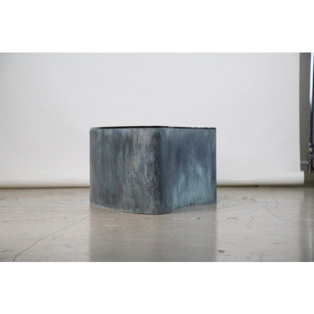 Abstract Custom Handcrafted Brutalist Coffee Table For Sale - Image 4 of 13