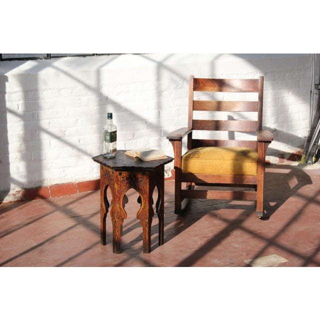 1900 - 1909 1900s Antique L & Jg Stickley Rocking Chair For Sale - Image 5 of 12