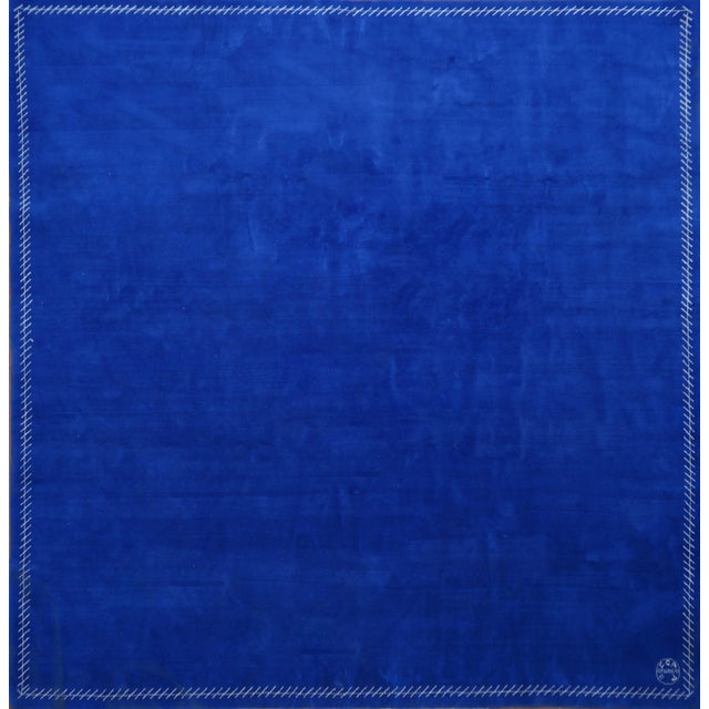 Boccara Limited Edition Artistic Rug Homage to Yves Klein For Sale