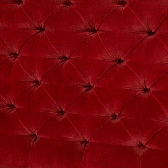 Red Elizabeth Garouste and Matti Bonetti Mars Sofas For Sale - Image 8 of 10