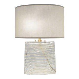 Vela Venetian Glass Lamp by Donghia For Sale